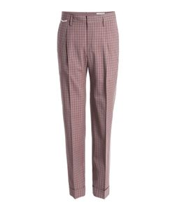 Marc Jacobs | Check Print Wool Pants Gr. Eu 50