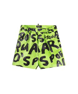Dsquared2 | Printed Satin Shorts Gr. 46