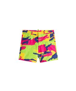 Dsquared2 | Camouflage Print Shorts Gr. 46