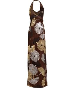 Dsquared2 | Printed Silk Maxi Dress Gr. 34