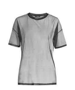 Akris | Sheer Silk T-Shirt Gr. De 36