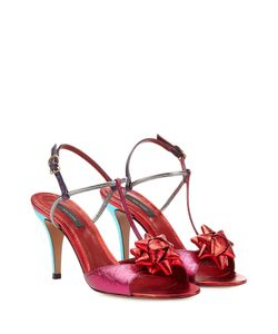 Marc Jacobs | Metallic Leather Sandals Gr. It 40