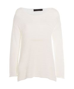 Donna Karan New York | Cotton Blend Knit Pullover Gr. S