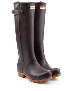 Hunter   Tall Wellington Boots With Zipper Gr. 40/41
