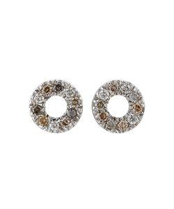 Carolina Bucci | 18kt White Gold Earrings With Diamonds Gr. One Size