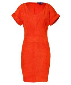 Ralph Lauren Collection | Suede Shiloh Dress Gr. 36