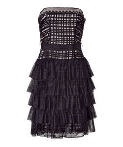 Collette Dinnigan | Strapless Lace Dress Gr. M