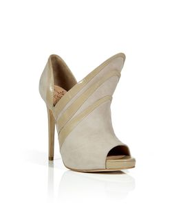 Alejandro Ingelmo   Sand Suede Triple Layered Booties Gr. 36