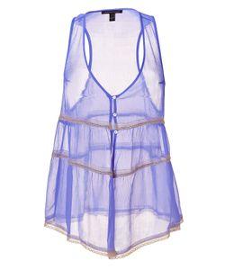 Kiki De Montparnasse | Periwinkle Crinkle Silk Chiffon Top Le Reve Gr. M