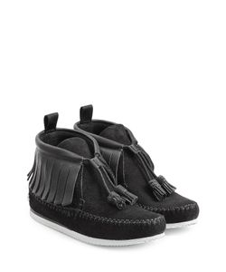 Rag & Bone | Suede Moccasin Sneakers With Leather Gr. 35