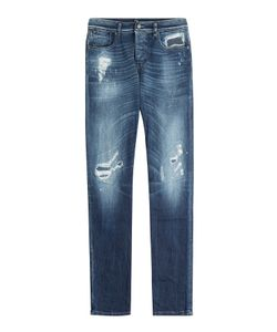 7 for all mankind | Distressed Straight Leg Jeans Gr. 31