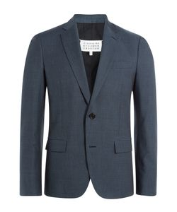 Maison Margiela | Virgin Wool-Cotton Blend Blazer Gr. Eu 48