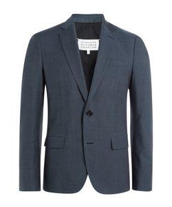 Maison Margiela | Virgin Wool-Cotton Blend Blazer Gr. Eu 48