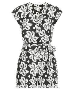 Diane Von Furstenberg | Printed Silk Jumpsuit Gr. 32