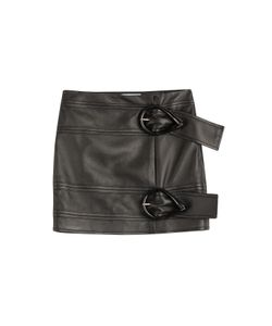 J.W. Anderson | Leather Mini Skirt Gr. 36