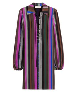 Emilio Pucci | Striped Silk Dress Gr. 38