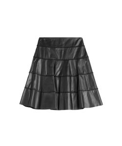 Paule Ka | Leather Skirt Gr. 34