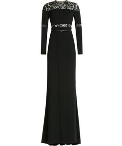 Elie Saab | Floor-Length Gown With Lace Gr. 36