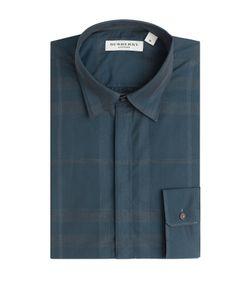 Burberry London | Check Print Cotton Shirt Gr. S