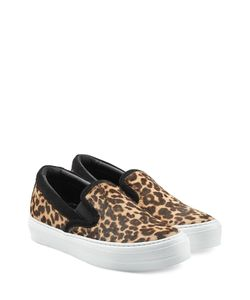 Salvatore Ferragamo | Leopard Printed Slip-On Sneakers Gr. 385