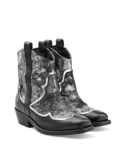 Rupert Sanderson | Leather Ankle Boots Gr. 40