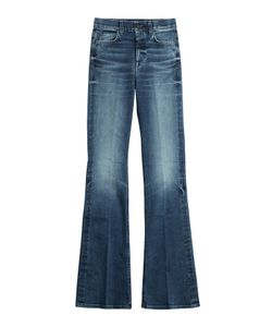 7 for all mankind | High-Waisted Flared Jeans Gr. 32