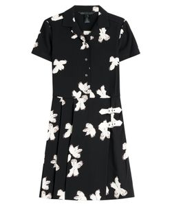 Marc by Marc Jacobs | Printed Crepe Dress With Buckles Gr. M