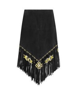 Valentino | Suede Skirt With Fringe Gr. 34