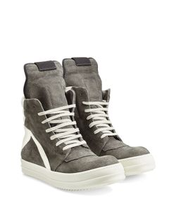 Rick Owens | Geobasket Suede High-Top Sneakers Gr. 41