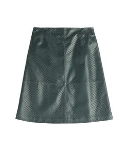 Mcq Alexander Mcqueen | Perforated Leather Skirt Gr. 32