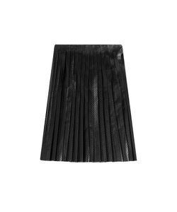 Mcq Alexander Mcqueen | Perforated Leather Skirt Gr. 34