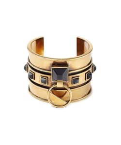 Alexander McQueen | Embellished Brass Bangle Gr. One Size