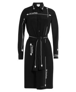Moschino | Silk Shirt Dress Gr. 32