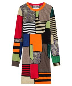 Moschino | Colorblock Wool Dress Gr. 34