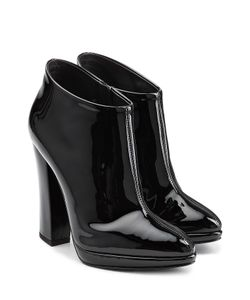 Giuseppe Zanotti Design | Patent Leather Ankle Boots Gr. 35