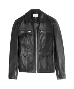 Maison Margiela | Leather Jacket Gr. 50