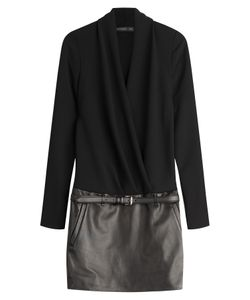 Barbara Bui | Mixed-Media Leather Dress Stylebop Exclusive Gr. Fr 36