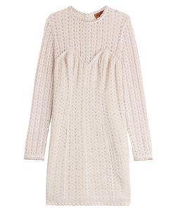 Missoni   Crochet Knit Dress With Wool Gr. 34