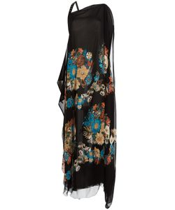 Roberto Cavalli | Printed Silk Maxi Dress Gr. 34