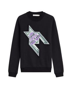Mary Katrantzou | Embroidered Sweatshirt With Sequins Gr. S