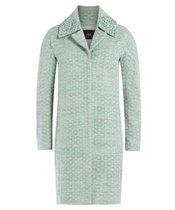 Steffen Schraut | Circle Coat With Embellished Collar Gr. De 38