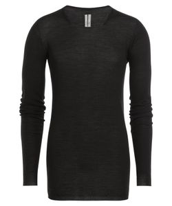 Rick Owens | Long Sleeved Virgin Wool Top Gr. S