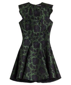Alexander McQueen | Silk-Wool Brocade Dress Gr. It 38