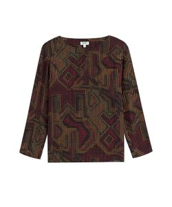 Kenzo | Printed Silk Blouse Gr. 34