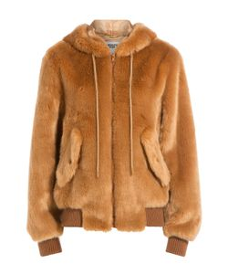 Moschino | Faux Fur Hoodie Jacket Gr. 34