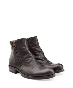 Fiorentini+Baker | Leather Ankle Boots With Zip Gr. 40