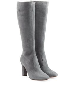 L' Autre Chose | Suede Knee Boots Gr. It 395