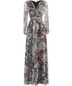Diane Von Furstenberg | Printed Silk Chiffon Maxi Dress Gr. 2