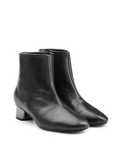 Robert Clergerie | Leather Ankle Boots Gr. 35