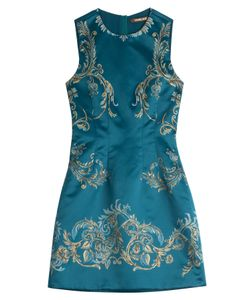 Roberto Cavalli | Printed Satin Dress Gr. 38